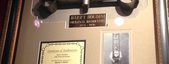 Houdini Museum is one of Bucket List Places.