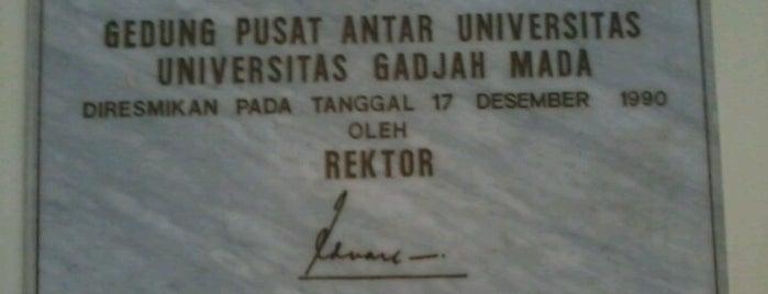 Gedung PAU-Pascasarjana UGM is one of Universitas Gadjah Mada.