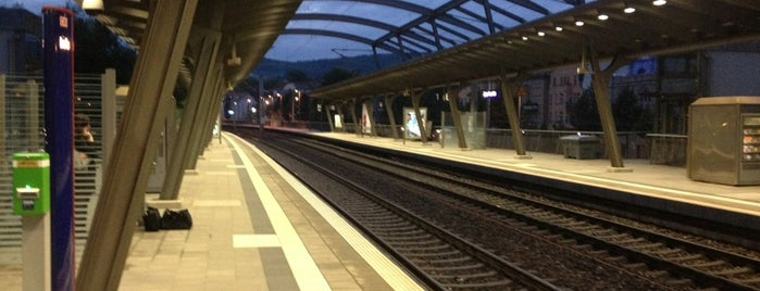 Bahnhof Jena Paradies is one of visited stations.