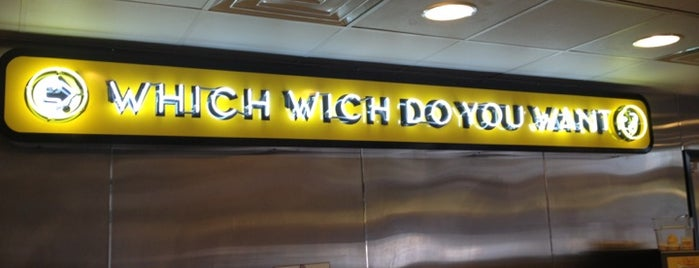 Which Wich? Superior Sandwiches is one of Mel's Faves :).