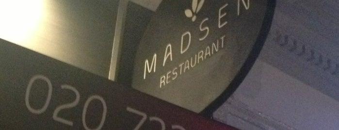 Madsen is one of London Restaurants.