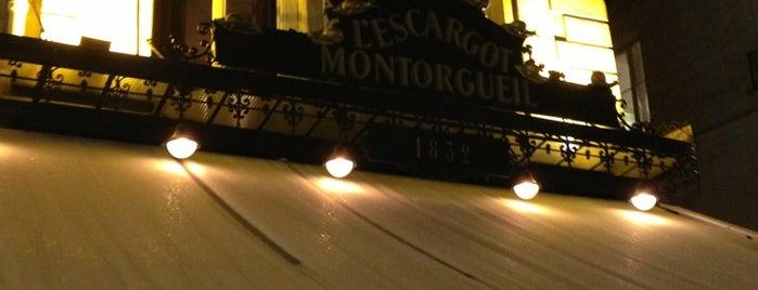 L'Escargot Montorgueil is one of Paris' Restaurants.
