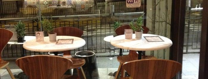JAVA JAVA Coffee & Tea Lounge is one of HK Best Coffee.