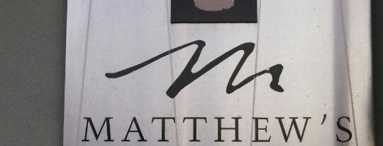 Matthew's Restaurant is one of JAX , FL.