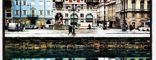 Piazza Ponterosso is one of Trieste.