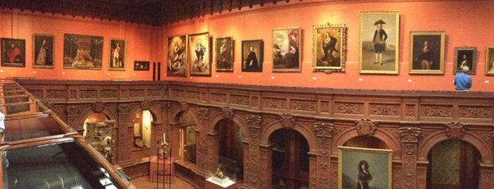 The Hispanic Society Of America is one of NY Art Museums & Galleries.