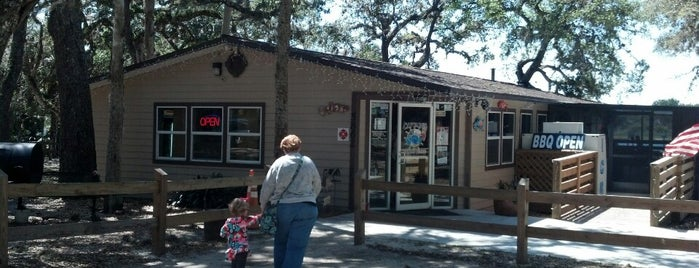 Captain's BBQ, Bait & Tackle is one of Florida.