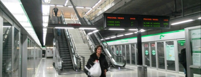 METRO Parque de los Príncipes is one of Metro de Sevilla - Línea 1.
