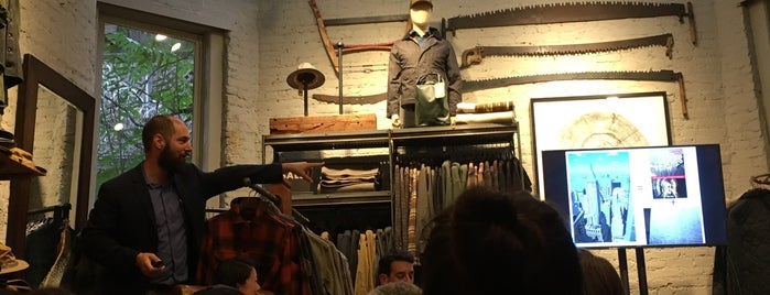 Filson is one of NYC - Stores.