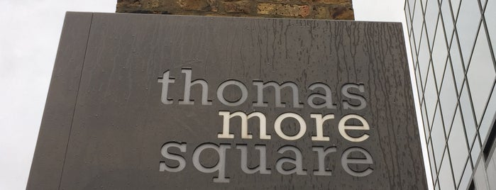 Thomas More Square is one of London, UK (attractions).