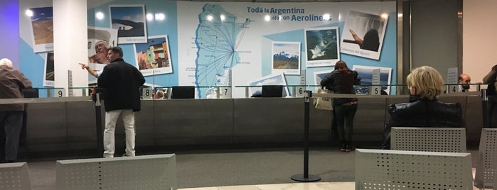 Aerolíneas Argentinas is one of LUGARES VISITADOS.