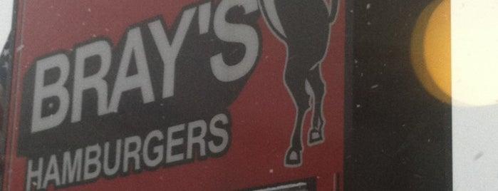 Bray's Hamburgers is one of Motown.