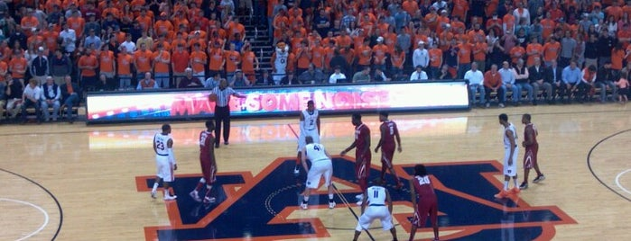 Auburn Arena is one of Sporting Venues To Visit.....