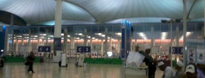 King Abdul Aziz International Airport. Jeddah. Saudi Arabia is one of i've been visited.