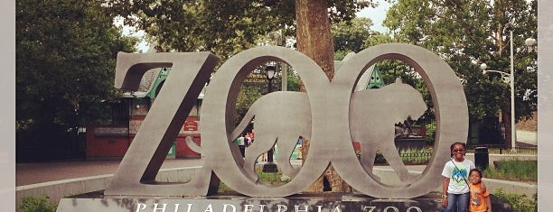 Philadelphia Zoo is one of Philadelphia - Pontos Turisticos.