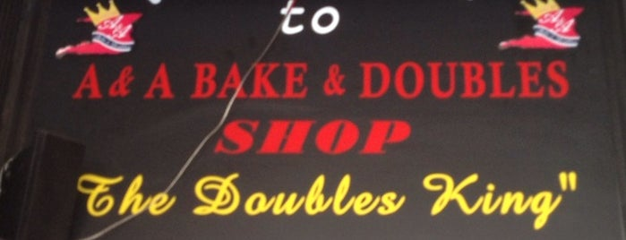 A & A Bake & Doubles is one of Real Cheap Eats NYC.