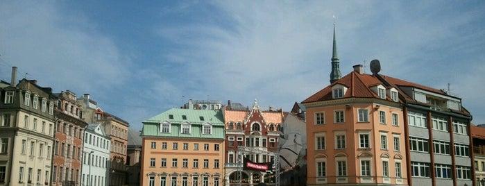 Riga Old Town is one of Rīga: To tu nebūsi gaidījis!.