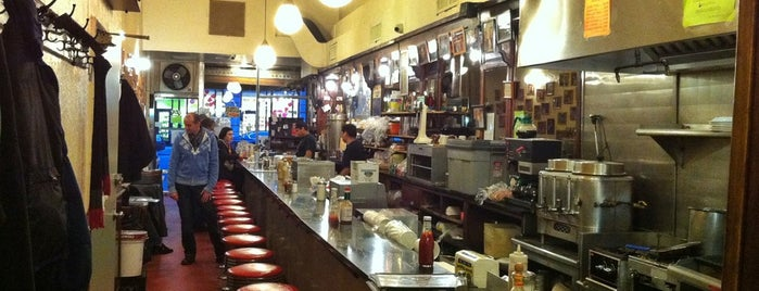 Eisenberg's Sandwich Shop is one of NY Region Old-Timey Bars, Cafes, and Restaurants.