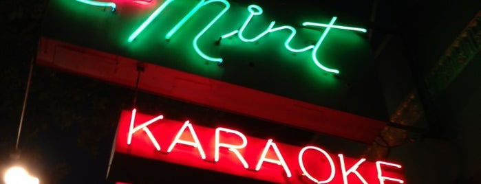 Mint Karaoke Lounge is one of Cool Bars in Downtown.