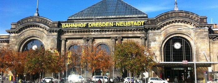 Bahnhof Dresden-Neustadt is one of DB ICE-Bahnhöfe.