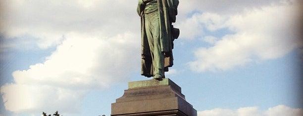 Памятник А. С. Пушкину is one of Места для онлайн трансляций.