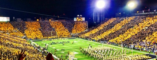 Kinnick Stadium is one of Sports Venues I've Worked At.