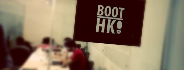 BootHK is one of Cowork Spaces in HK.