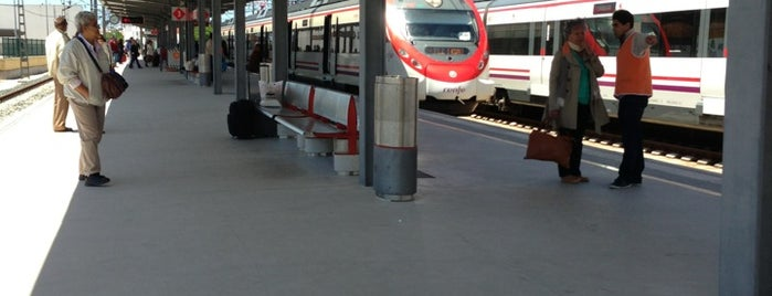 Estaciones de tren - Estacion de tren puerto de santa maria ...
