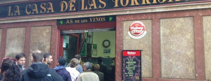 La Casa de Las Torrijas - As de los Vinos is one of Madrid.