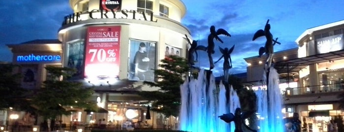 The Crystal is one of Shopping BKK.