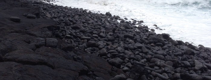 Kalapana Black Sand Beach is one of Big Island.