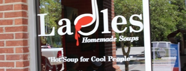 Ladles Homemade Soups is one of my charleston places.