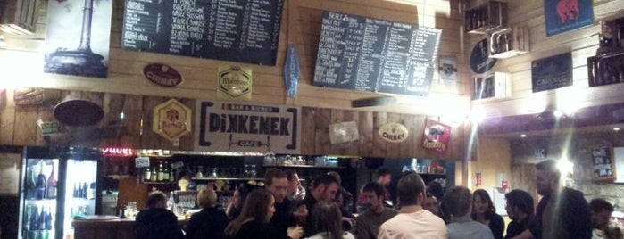 Dikkenek Café is one of Lyon.
