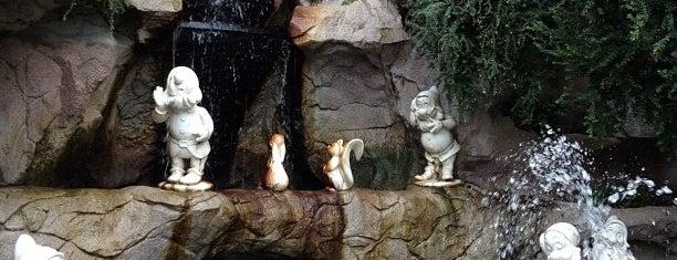 Snow White Grotto is one of Disneyland Fun!!!.
