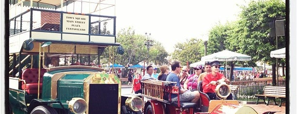 Main Street Vehicles is one of Disneyland Fun!!!.