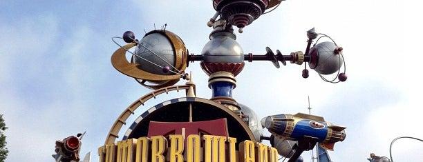Tomorrowland is one of Disneyland Fun!!!.