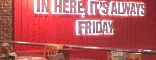 T.G.I. Friday's is one of Novosibirsk TOP places.
