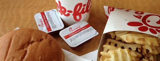Chick-fil-A is one of ALL TIME FAVORITES.