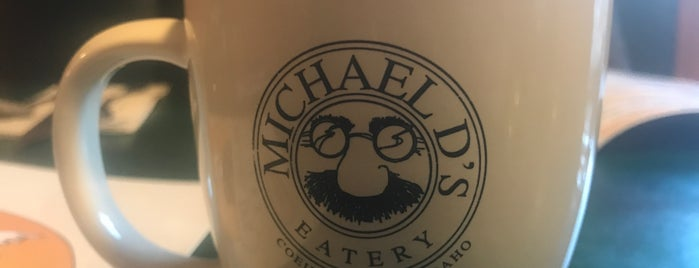 Michael D's Eatery is one of CIA Alumni Restaurant Tour.