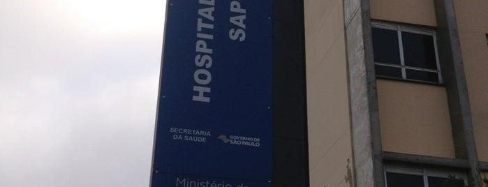 Hospital Estadual De Sapopemba is one of Saúde - Estabelecimentos.