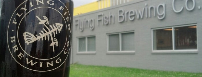Flying Fish Brewing Company is one of Brewery.