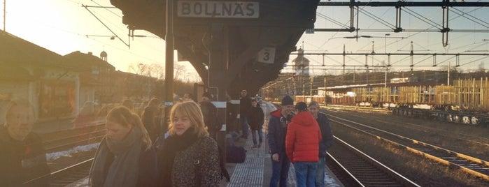 Bollnäs Station is one of Tågstationer - Sverige.