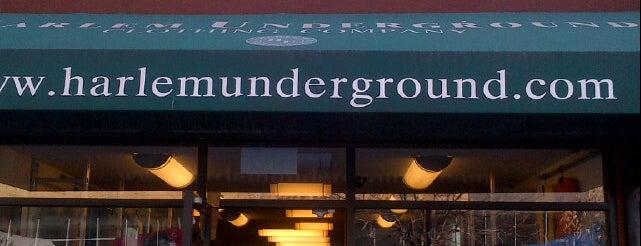 Harlem Underground is one of Men's Clothing.