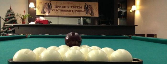 """Бильярдный Клуб """"Олимпийский"""" is one of Бильярдные Москвы."""