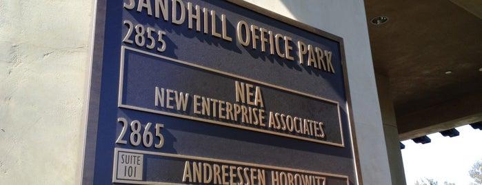 Andreessen Horowitz is one of Startups & Spaces NYC + CA.