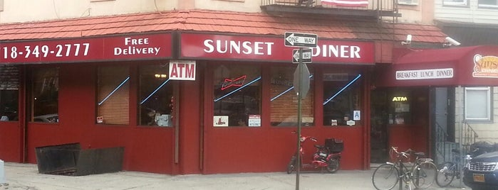 Sunset Diner is one of Williamsburg/Greenpoint Food.