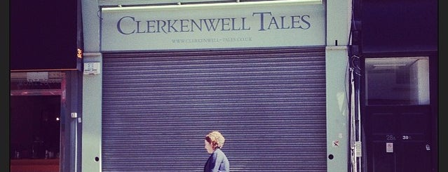 Clerkenwell Tales Bookshop is one of Guardian Recommended Independent Bookshops.