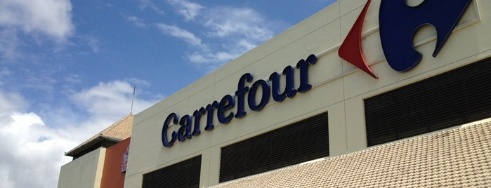 Carrefour is one of Nanda's All Favorite♥♚.