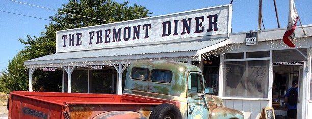 The Fremont Diner is one of californouze.