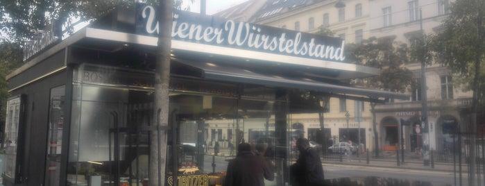 Wiener Würstelstand is one of Interessante Imbisse.